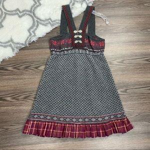 Free People Wool Blend Sweater Dress Size Large